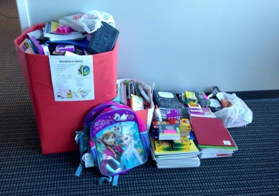 Thanks for a Successful Backpack Drive