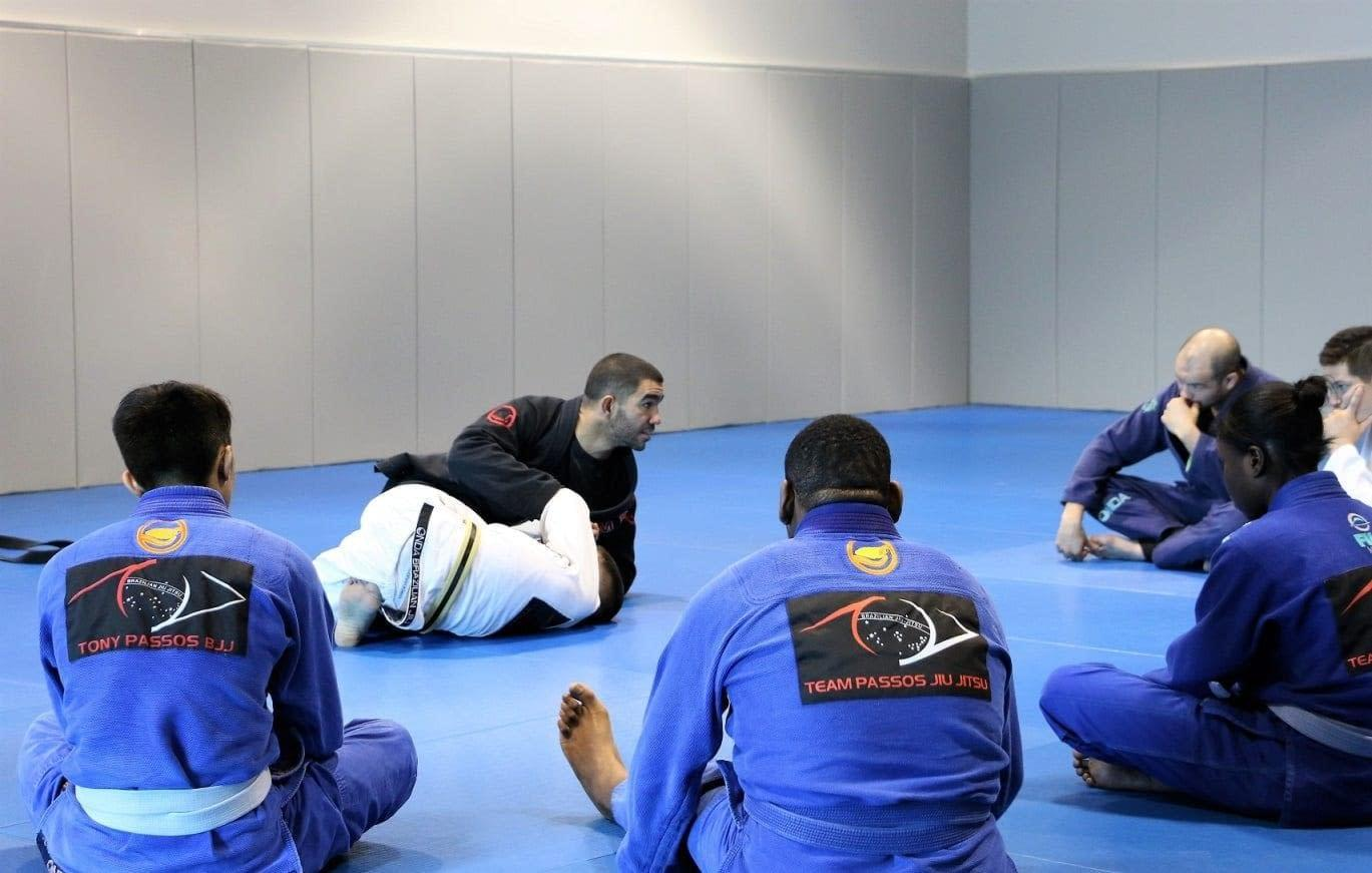 BJJ is a War on Space Control