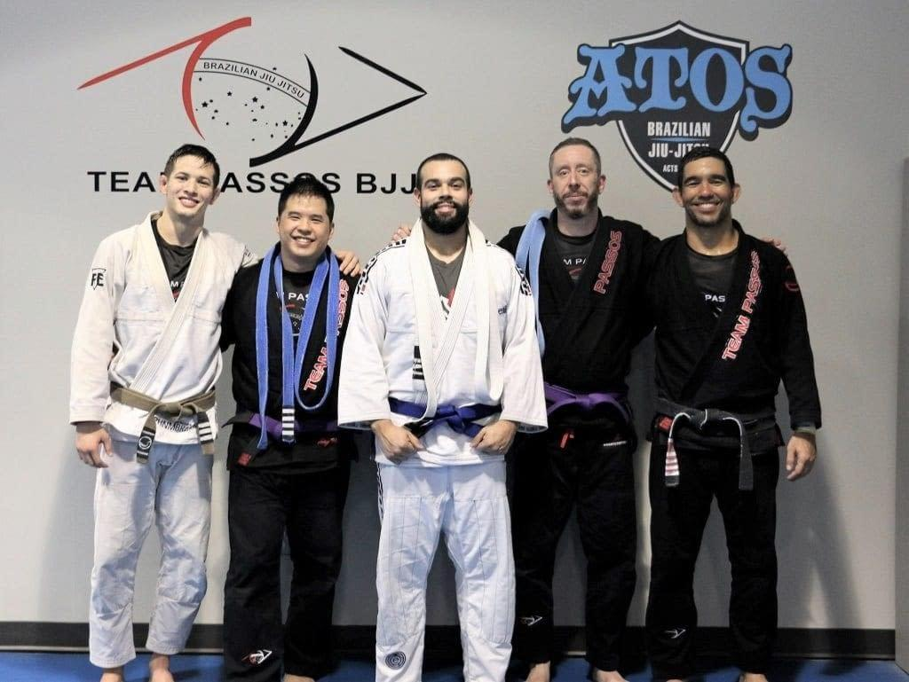 New Blue and Purple Belts