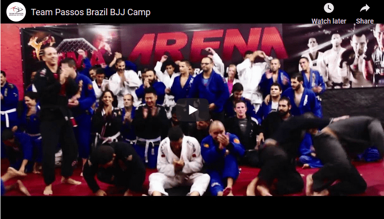 Team Passos Brazil BJJ Camp Video
