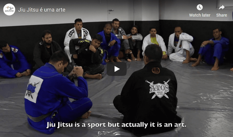 Video: Jiu Jitsu is an Art