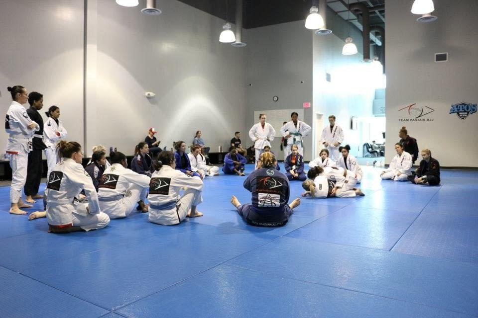 Women's BJJ Spring Training
